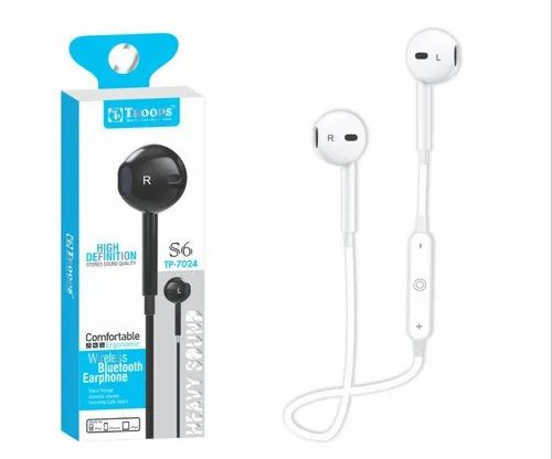 2db982b50a4 Troops Tp-7024 Wireless Bluetooth Earphone S6 at Rs 439 /piece ...