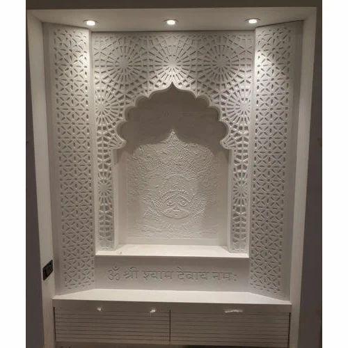 Pvc Bathroom Door Price In Delhi: Designer Mandir, Corian Temple
