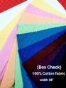 Cotton Fabric (Box Check)