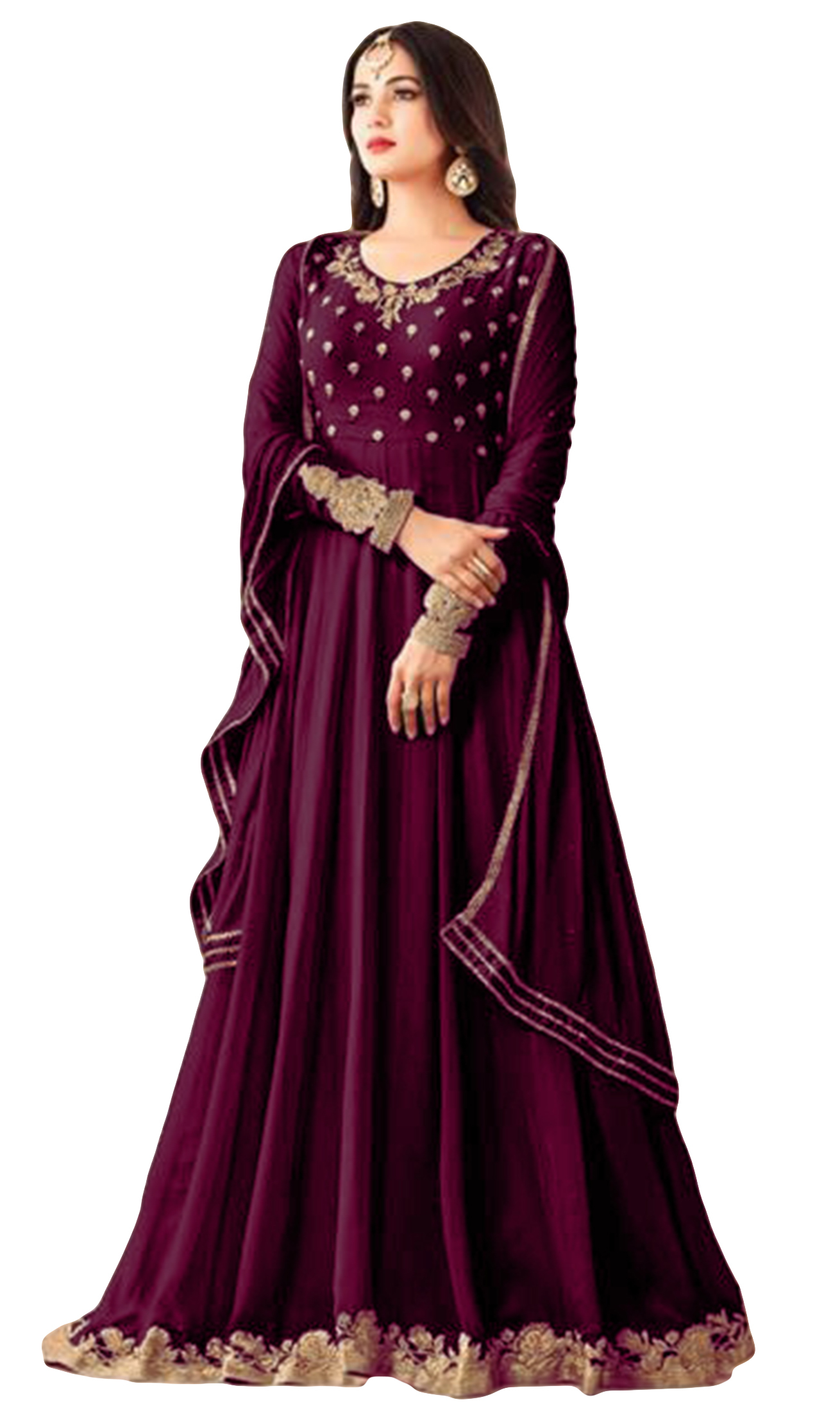 5ca75ca272 Stylish Jacket Party Wear Georgette Anarkali Suits, Rs 2700 /piece | ID:  17620288097