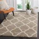 Rectangular Silk Woolen Floor Carpet, Size: 5 X 8 Feet