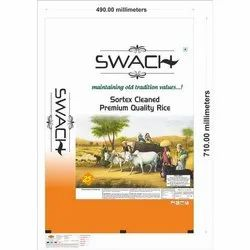 Swach PP Woven Rice Bag