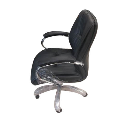 Px Black Executive Low Back Leather Office Chair