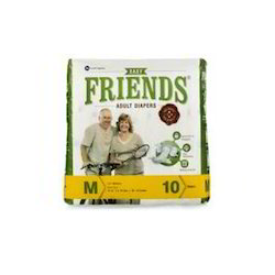 Friends Adult Diaper(Pack Of 10) (Medium)