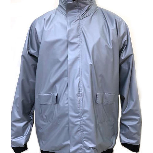 37bbe1383 Plain Plain Rubber Raincoat, Size: Medium, Large, Rs 450 /piece | ID ...