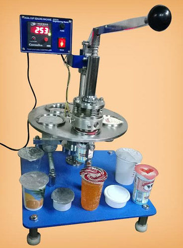 Glass Packing Machine Rotary Cup Sealing Machine