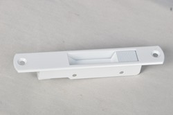 Nine Bearings White Tl02 Touch Lock, Powder Coated