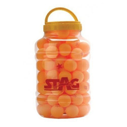 Stag Table Tennis Ball Three Star Orange 40mm ITTF Approved