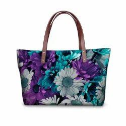 0b2332bed28a Multicolor Printed Ladies Printed Hand Bag