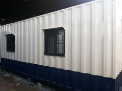 Rectangular MS Portable Cabins