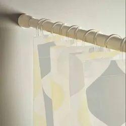 Glossy Adjustable Shower Rod