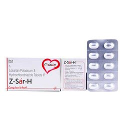 Losartan Potassium and Hydrochlorothiazide Tablets IP