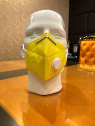 Yellow N95 Reusable Face Mask