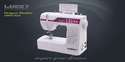White Lucky Lc 2600a Series Designer Sewing Machine