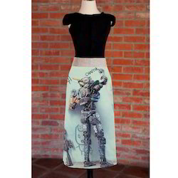 Fancy Digital Design Printed Waist Apron