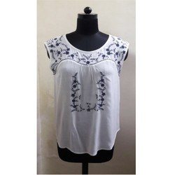 Casual Embroidery Blouse