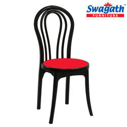 Beauty Super Red Plastic Chair
