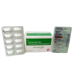Pantoprazole 40mg Domperidone 30mg (Sustain Release) Tablets