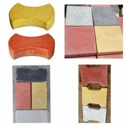 Cement Square Brick Paver Block, Thickness: 60mm To 80mm