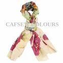 Floral Printed Cashmere Scarves