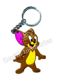 Tom And Jerry Promotional Rubber Keychain