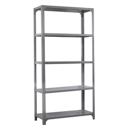 Color Coated Slotted Angle Rack