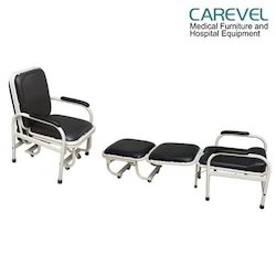 Carevel Hospital Attendant Bed Cum Chair