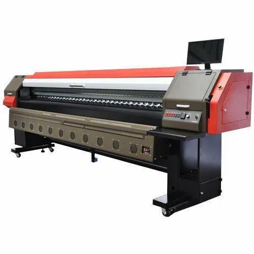 Mild Steel Flex Solvent Printer