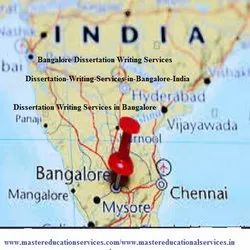 Bangalore MSc Dissertation Writing Services