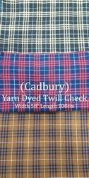 Yarn Dyed Twill Check (Cadbury)