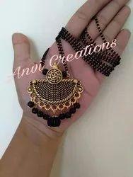 Oxcide Anvi creations Ladies Antique Necklace, Size: 36, 30