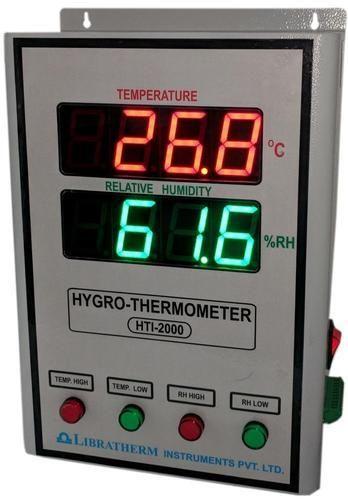 Industrial Digital Hygro Thermometer 2 Amp 4 Inch Hygro