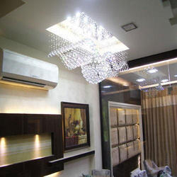 Living Room Ceiling And Lights Design