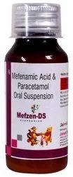 Mefenamic Acid 100 MG Paracetamol 250 Sus
