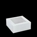 Detpak 7 & 11 Inch Square Patisserie Box