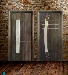 PVC Brown Doors