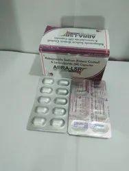 Abra-LSR Rabeprazole Sodium & Levosulpiride Capsules, Packaging Type: Box & Strips, Packaging Size: 10x10 Tablets
