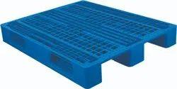 Pylon Black Plastic Pallets for Export and Reusable, Capacity: 2.00 Tonns