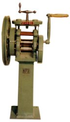 Single Geared Wire Rolling Machine, Automation Grade: Semi-Automatic