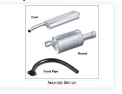 Silver Assembly Silencer