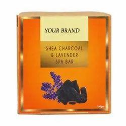 Shea Charcoal & Lavender Spabar