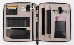Large Capacity Leather Travel Wallet