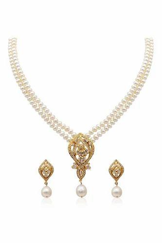 0355cf13a9b83 Elegant Pearl Necklace Set