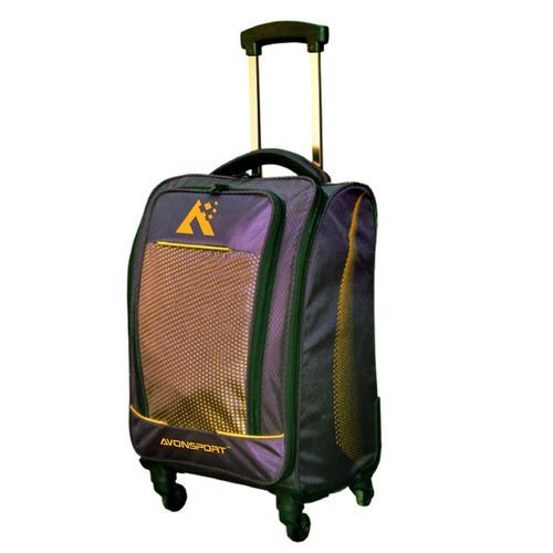 Avon Sport Purple Hot Seller Sports Design Luggage Trolley Bag For