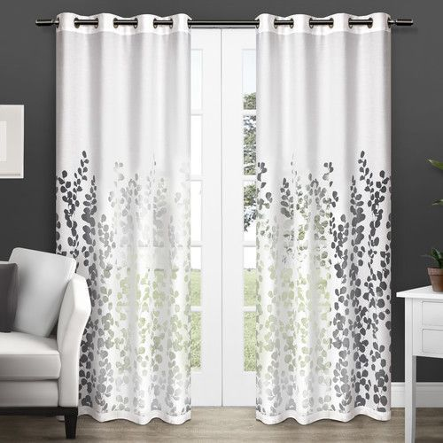 Printed Cotton Window Designer Curtain