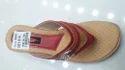Ladies Cherry Flat Sandals, Size: 6