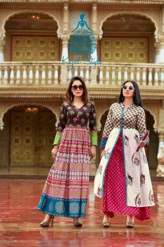 15ccdcc391 XL Kajal Style Mumtaz Vol 3 Cotton Kurti, Rs 1255 /piece ...