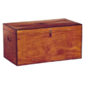 Wood Brown Antique Chest