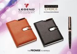 Executive Choice Set Of Diary And Premium Metal Pen For Corporate Gifting