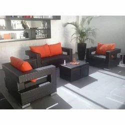 5 Seater Wicker Sofa Set